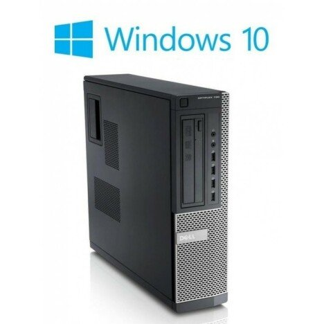 Calculatoare refurbished Dell OptiPlex 3010 DT, i3-3220, Win 10 Home
